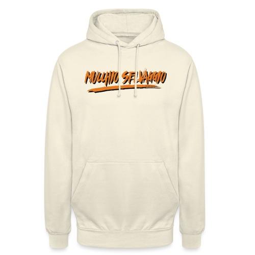 Mucchio Selvaggio 2016 Dirty Orange - Felpa con cappuccio unisex