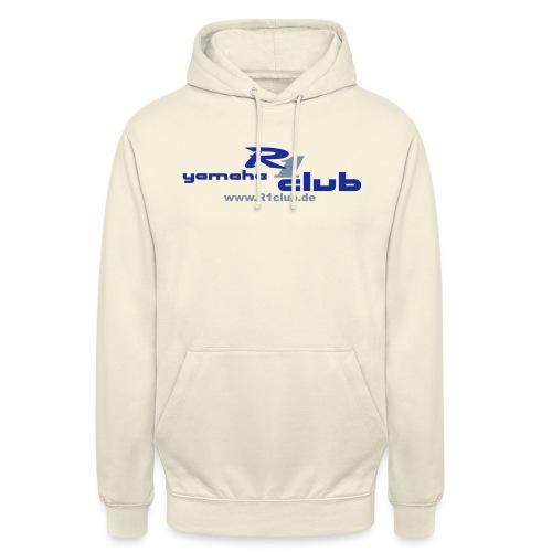 R1club Logo blau - Unisex Hoodie