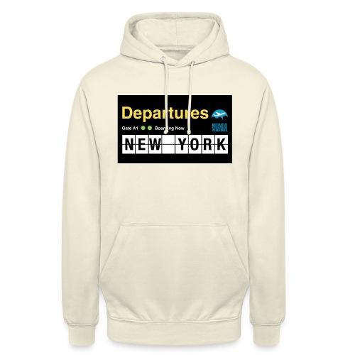 Departures Defnobarre 1 png - Felpa con cappuccio unisex