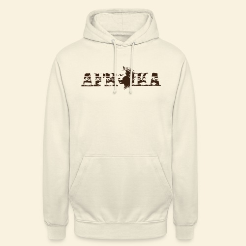 afrika - Sweat-shirt à capuche unisexe