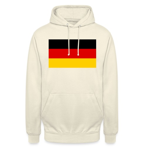 2000px Flag of Germany svg - Unisex Hoodie