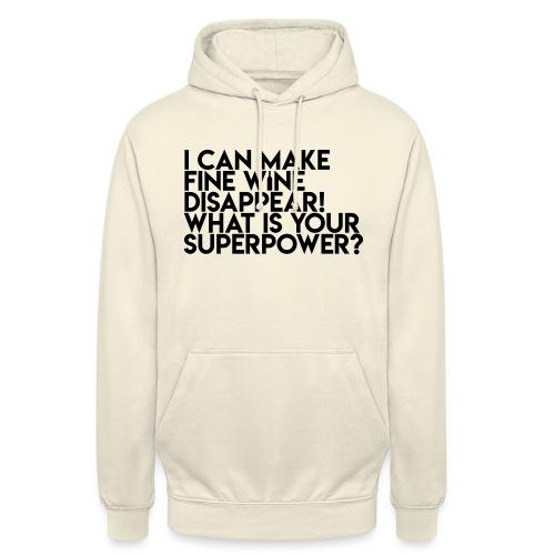 superpower - Hættetrøje unisex