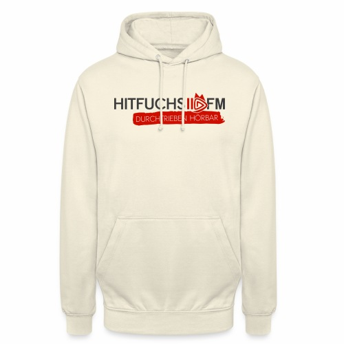 HitFuchs logo + slogan - Unisex Hoodie