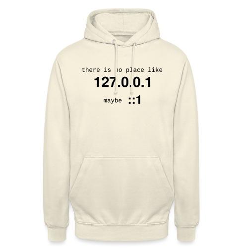 127-0-0-1-new - Sweat-shirt à capuche unisexe