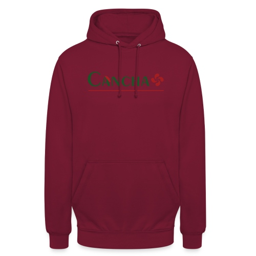 Cancha - Sweat-shirt à capuche unisexe