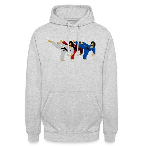 8 bit trip ninjas 2 - Unisex Hoodie