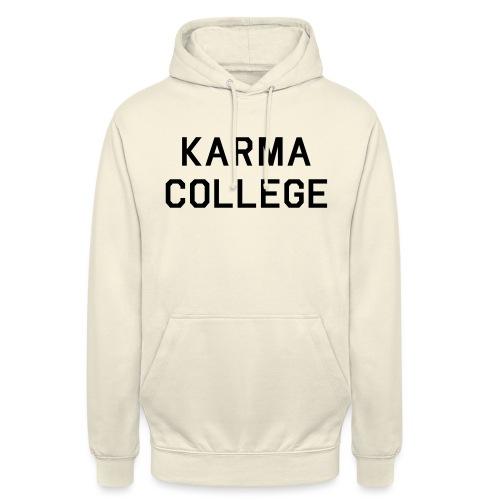 KARMA COLLEGE - Love each other. - Unisex Hoodie