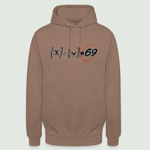 69 - Sweat-shirt à capuche unisexe