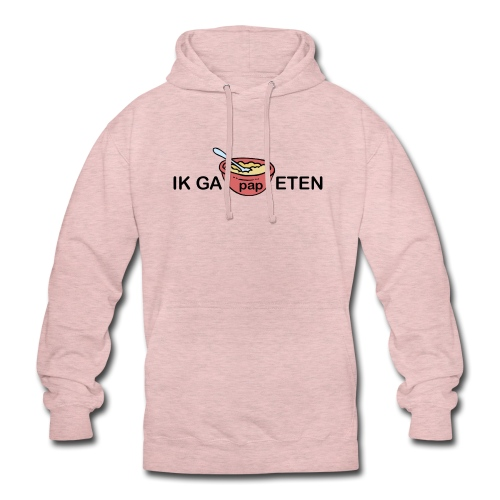 IK GA PAP ETEN - Hoodie unisex