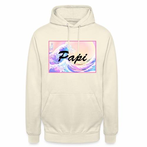 Papi Wave - Felpa con cappuccio unisex