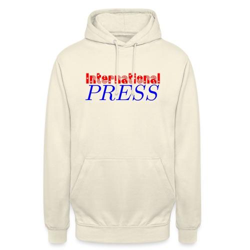 int_press-png - Felpa con cappuccio unisex