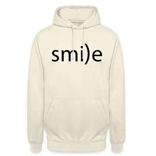 smile Emoticon lächeln lachen Optimist positiv yes - Unisex Hoodie