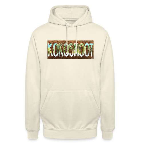 Kokosnoot - Hoodie unisex