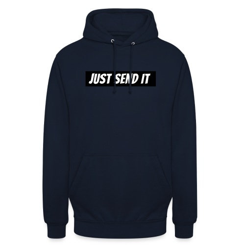 just send it logo - Unisex Hoodie