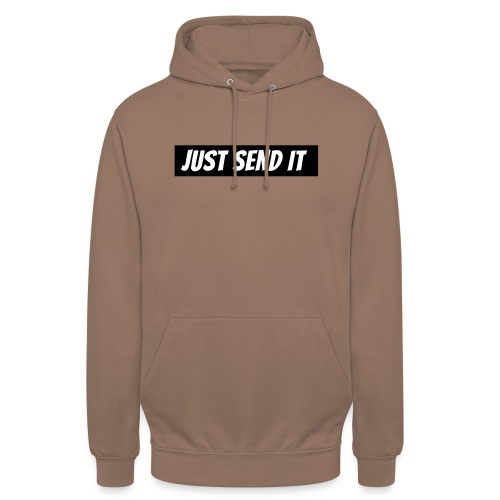 just send it logo - Unisex Hoodie