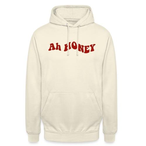 ah honey - Sudadera con capucha unisex