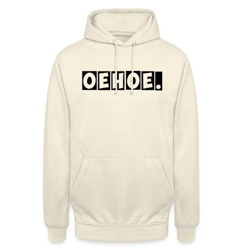 Oehoe_1_kleur - Hoodie unisex