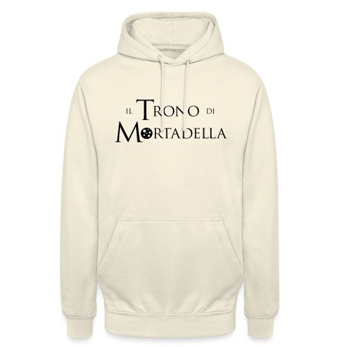 Grembiule Il Trono di Mortadella - Felpa con cappuccio unisex