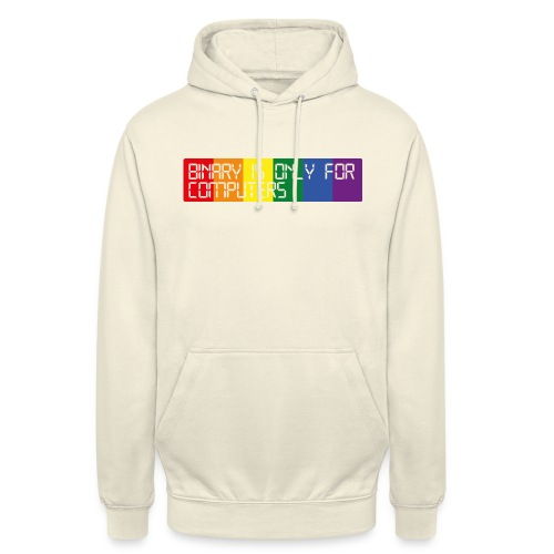 Binary is only for computers - Unisex Hoodie