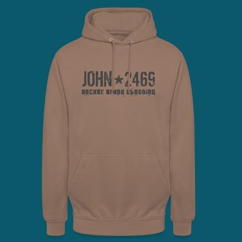 JOHN2469 prova per spread - Felpa con cappuccio unisex