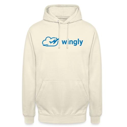 Wingly logo - Unisex Hoodie