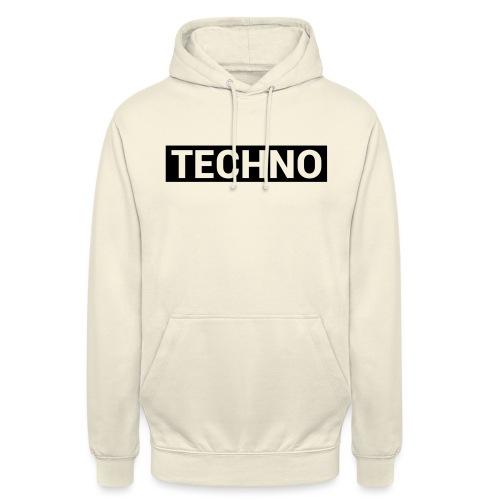 TECHNO - Unisex Hoodie