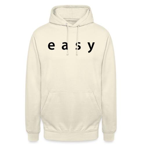 Vêtement easy - Sweat-shirt à capuche unisexe