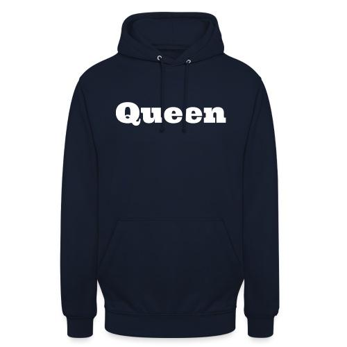 Snapback queen zwart/rood - Hoodie unisex