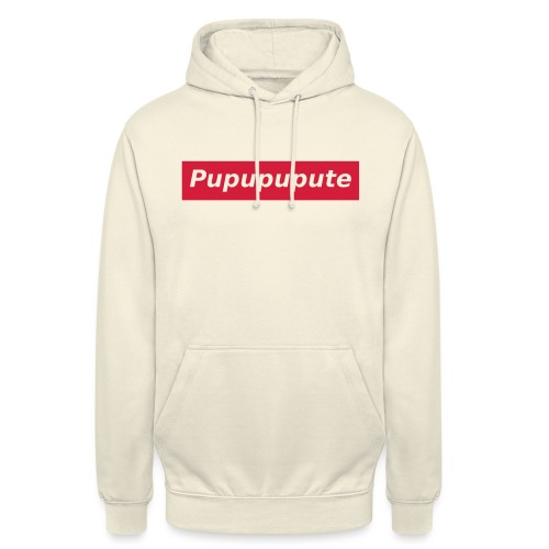 Pupupupute - Sweat-shirt à capuche unisexe