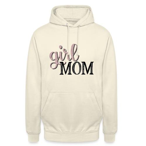 Schriftzug Girl Mom - Unisex Hoodie