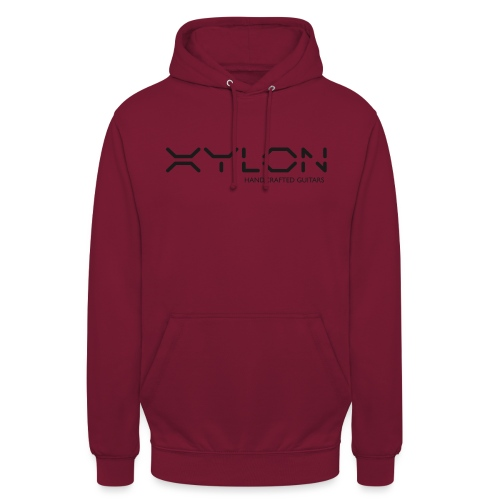 Xylon Handcrafted Guitars (plain logo in black) - Unisex Hoodie