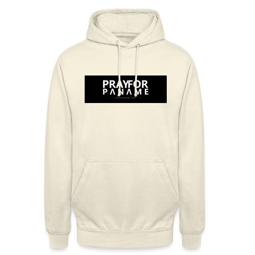 TEE-SHIRT HOMME - PRAY FOR PANAME - Sweat-shirt à capuche unisexe