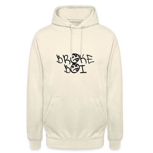 BROKEBOIBOUTIQUE - BLACK - Unisex Hoodie