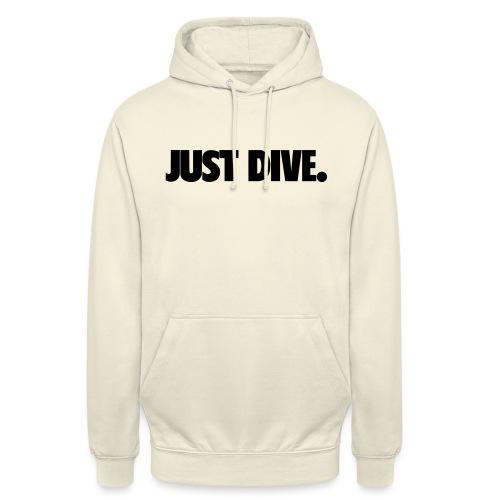 just, dive, nur - Bluza z kapturem typu unisex