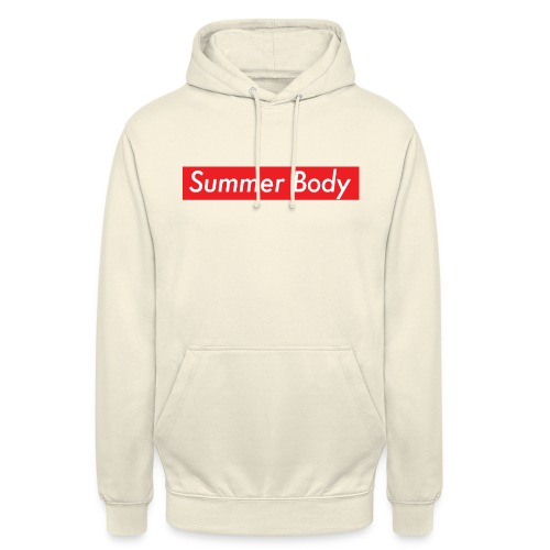 Summer Body - Sweat-shirt à capuche unisexe
