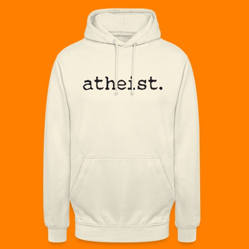 atheist BLACK - Unisex Hoodie