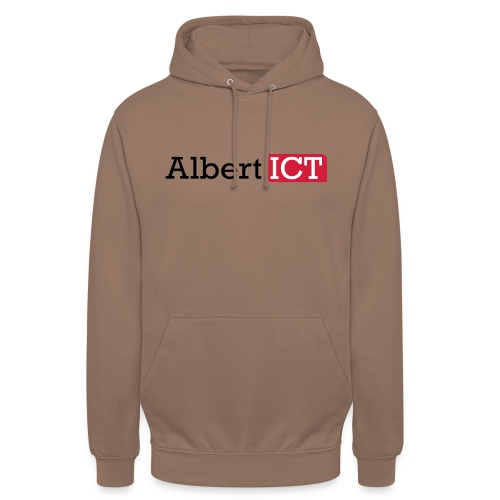 AlbertICT logo full-color - Hoodie unisex