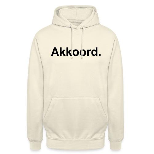 Akkoord - Hoodie unisex