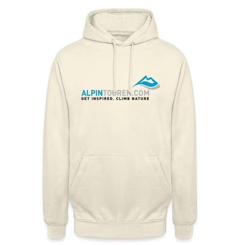 Alpintouren Logo - Unisex Hoodie