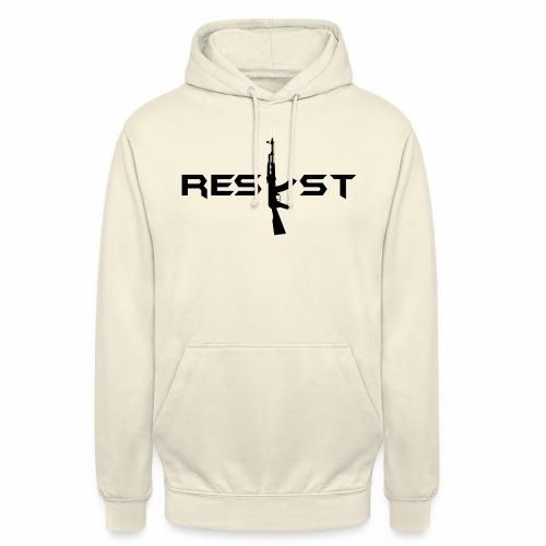 resist - Sweat-shirt à capuche unisexe