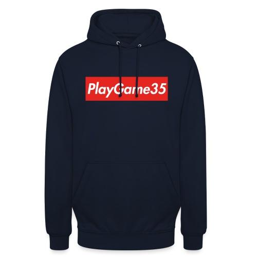 PlayGame35 - Felpa con cappuccio unisex