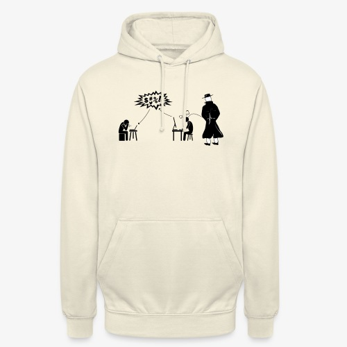 Pissing Man against hate postings - Unisex Hoodie