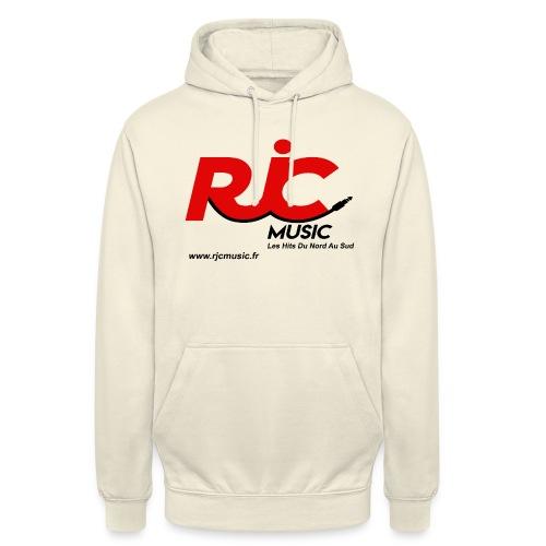 RJC Music avec site - Sweat-shirt à capuche unisexe