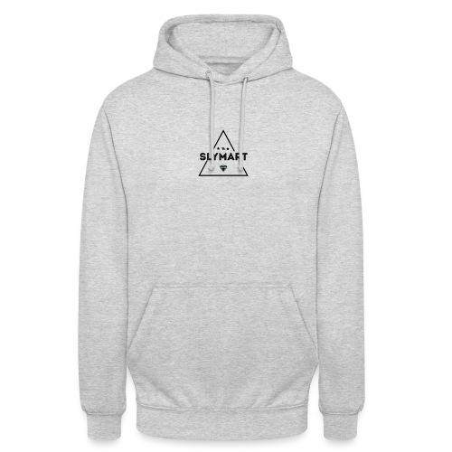 Slymart design noir - Sweat-shirt à capuche unisexe