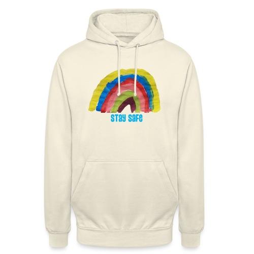 Stay Safe Rainbow Tshirt - Unisex Hoodie