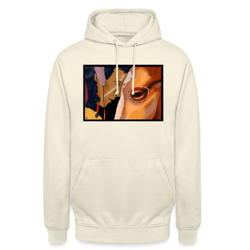 Man and Horse - Hoodie unisex