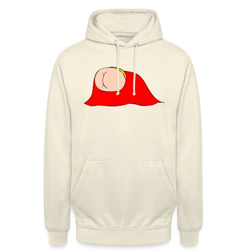 Flying Bum (diagonal) - without text - Unisex Hoodie