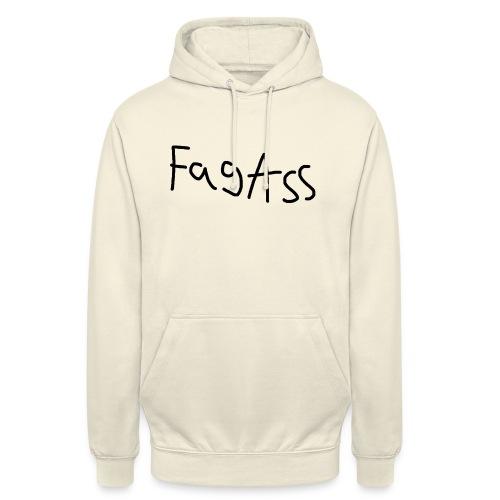 Fag Ass Logo #1 - Hættetrøje unisex