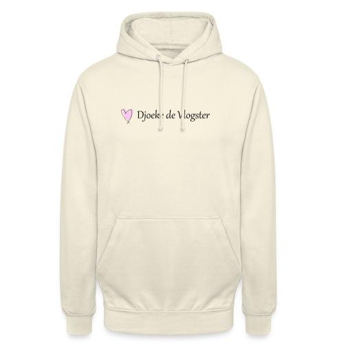 Djoeke de Vlogster logo 2 - Hoodie unisex