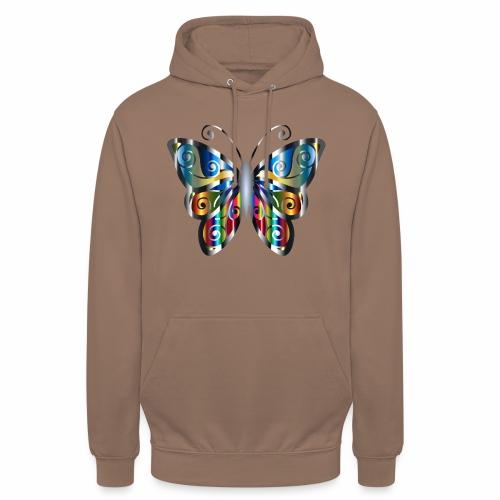 butterfly - Bluza z kapturem typu unisex